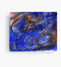 Dragon of Earth and Ocean Canvas Print