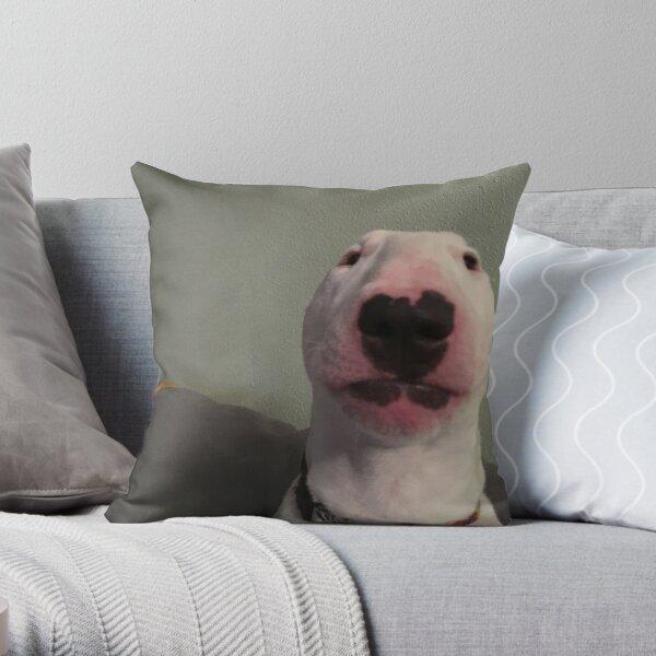 """@PupperNelson: """"Walter"""" Original Throw Pillow"""