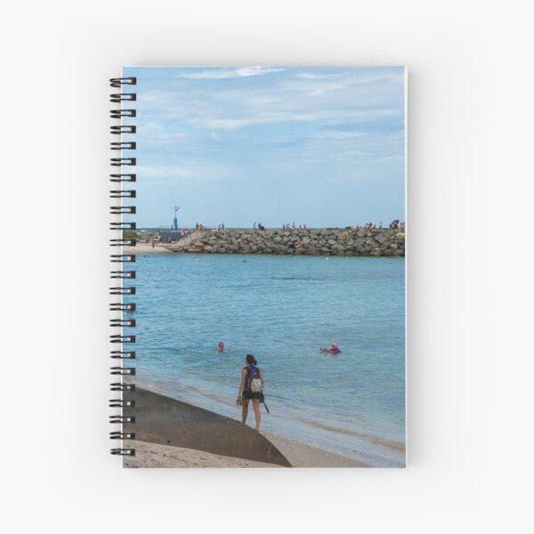 Cottseloe  Foreshore Spiral Notebook