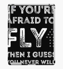 if you're afraid to fly iPad Case/Skin