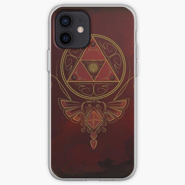 ~ Puissance rouge ~ Coque souple iPhone