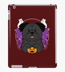 Licorice the Black Pug iPad Case/Skin