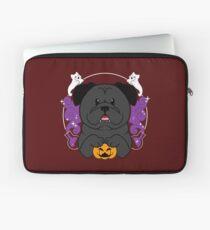 Licorice the Black Pug Laptop Sleeve