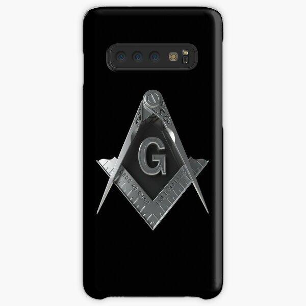 Freemason Square & Compass Silver Masonic Samsung Galaxy Snap Case