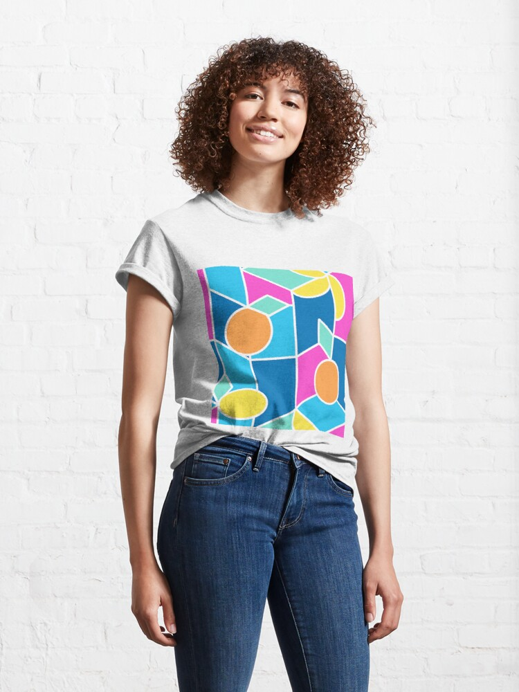 Alternate view of Color-Blocking Fruits Classic T-Shirt