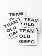 Team Old Greg Crazy Ex Girlfriend Fan art  Coasters