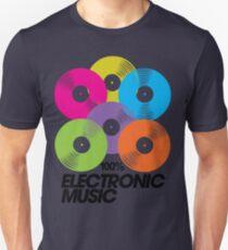 100% Electronic Music Unisex T-Shirt