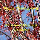 Happy Thanksgiving by DebbieCHayes
