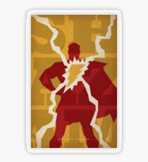 Shazam - Earth's Mightiest Mortal Transparent Sticker