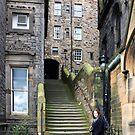 Steps to Milne's Court by Tom Gomez