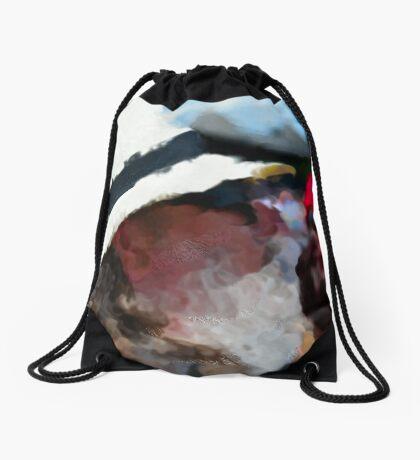 An Impression Drawstring Bag