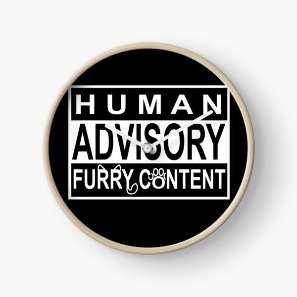 Advisory - FURRY CONTENT Clock