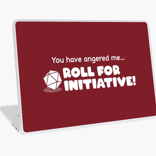 Roll for Initiative Laptop Skin