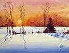 Frozen Sunset by Jim Phillips