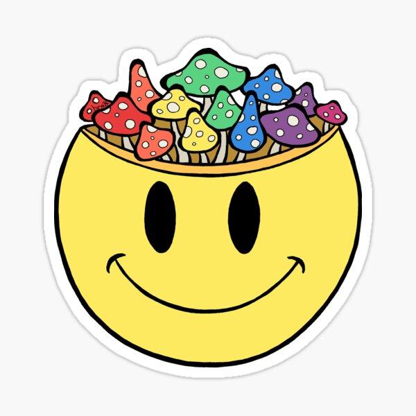 Smiley Face fun Guy Sticker