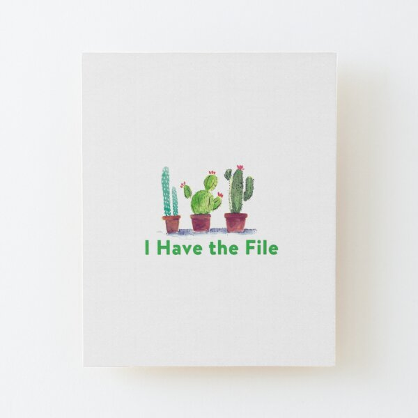 I have the file Wood Mounted Print