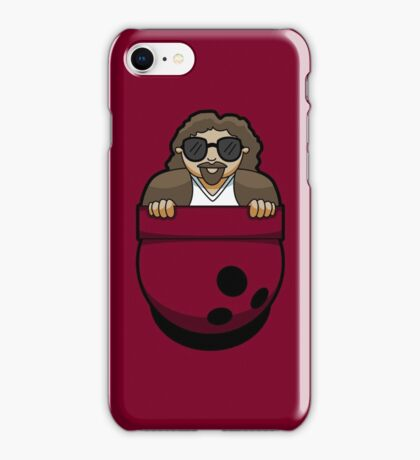 Pocket Dude (01) iPhone Case/Skin