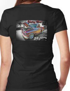 1959 Chevrolet Stepside - Cherry Ride Womens Fitted T-Shirt