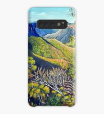 Govetts Leap Lookout, Blue Mountains Case/Skin for Samsung Galaxy