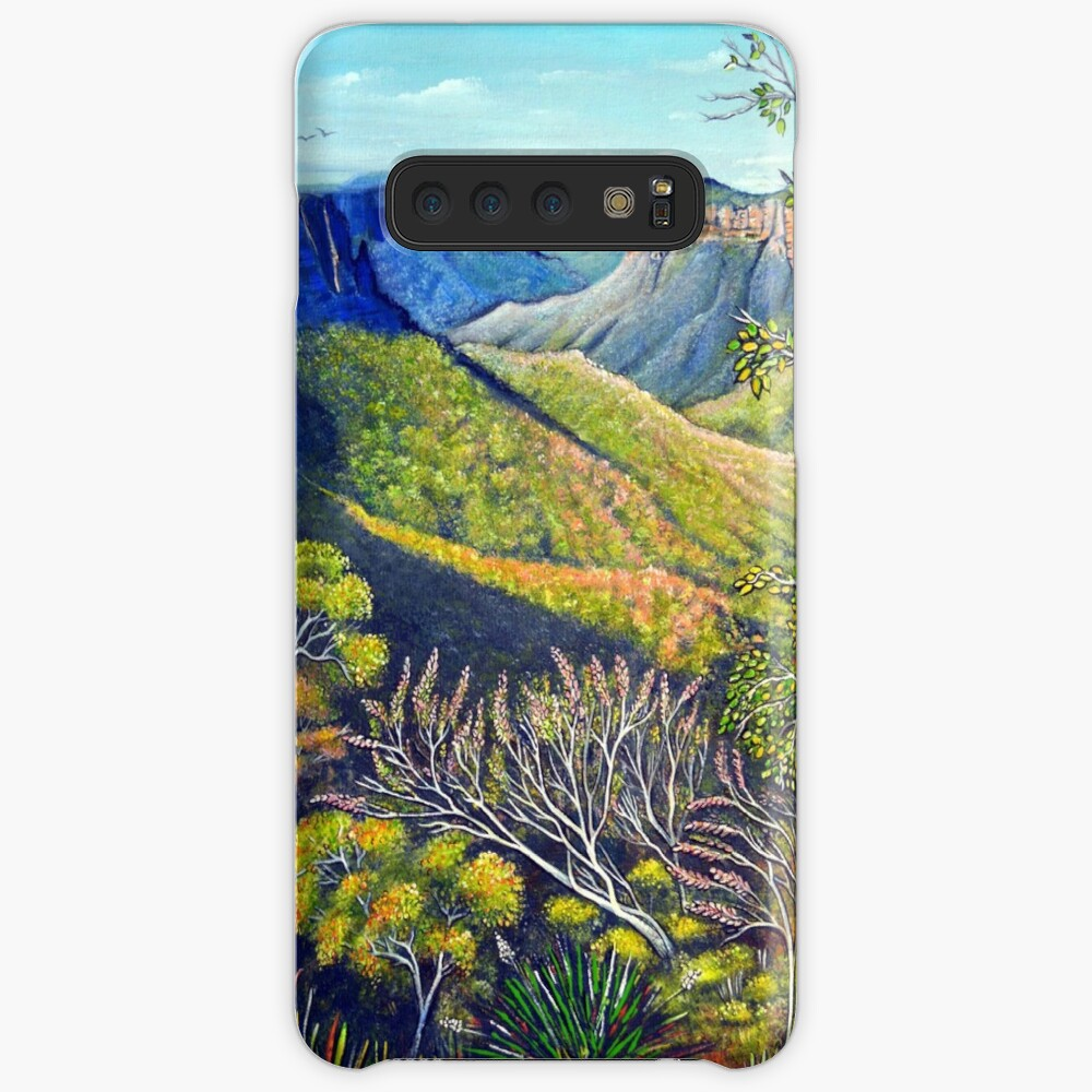 Govetts Leap Lookout, Blue Mountains Case & Skin for Samsung Galaxy