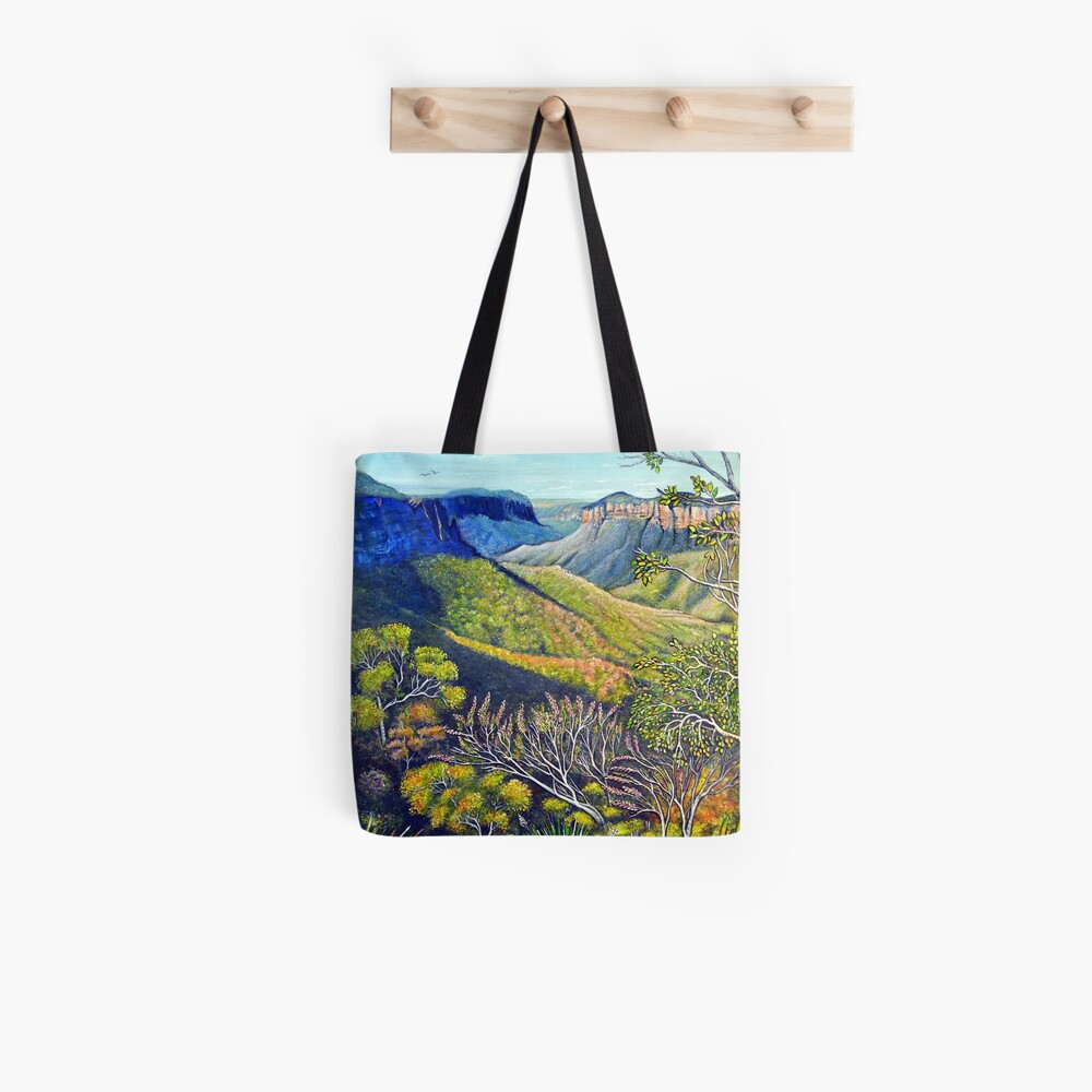 Govetts Leap Lookout, Blue Mountains Tote Bag