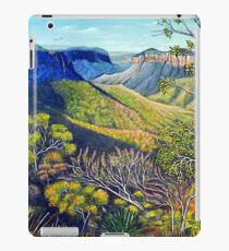 Govetts Leap Lookout, Blue Mountains iPad Case/Skin