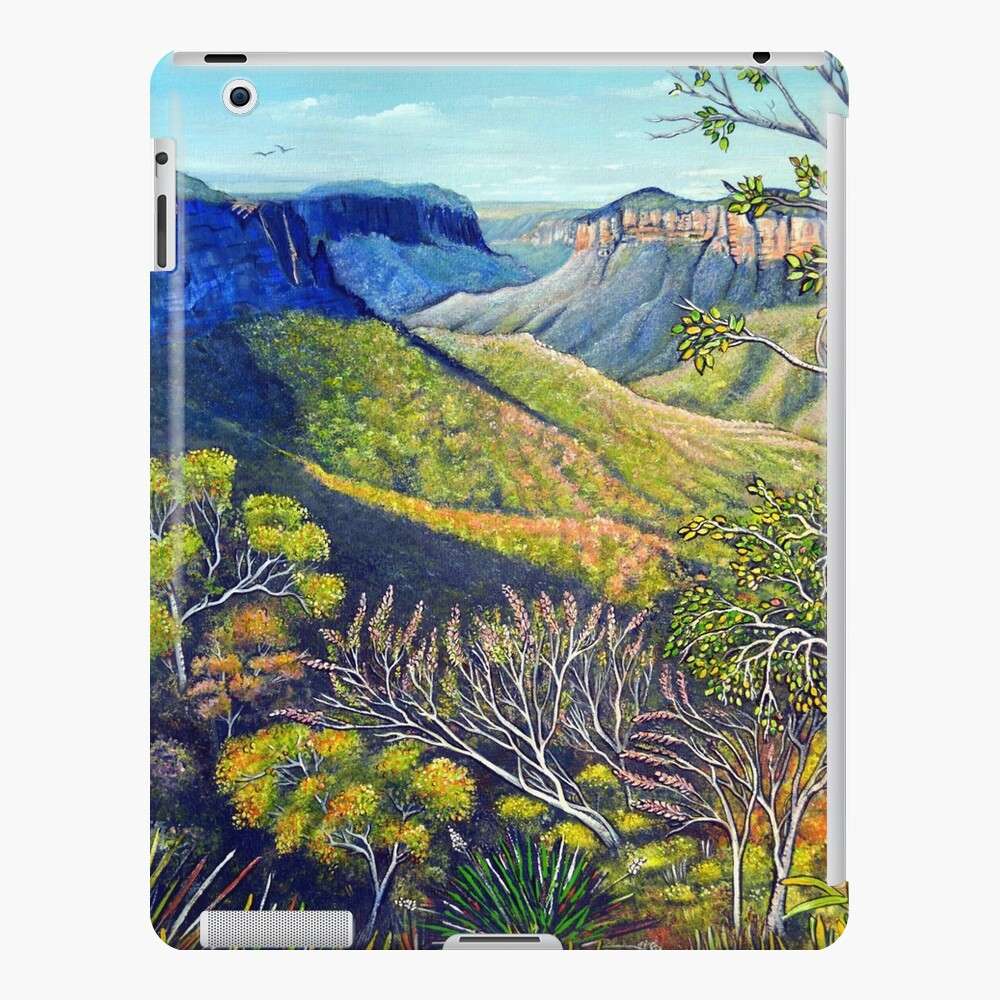Govetts Leap Lookout, Blue Mountains iPad Case & Skin