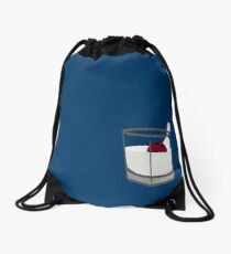 Hey, careful, man, there's a beverage here! Drawstring Bag