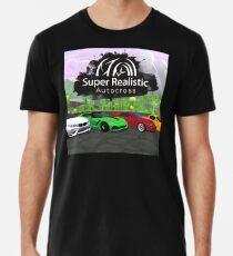 Super Realistic Autocross Game Banner Premium T-Shirt