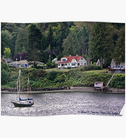 Peaceful Cove Poster