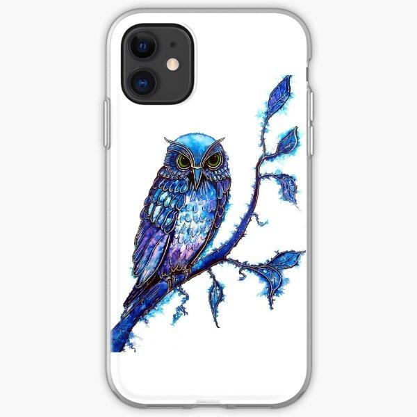 Owl - The Wisdom Keeper iPhone Soft Case
