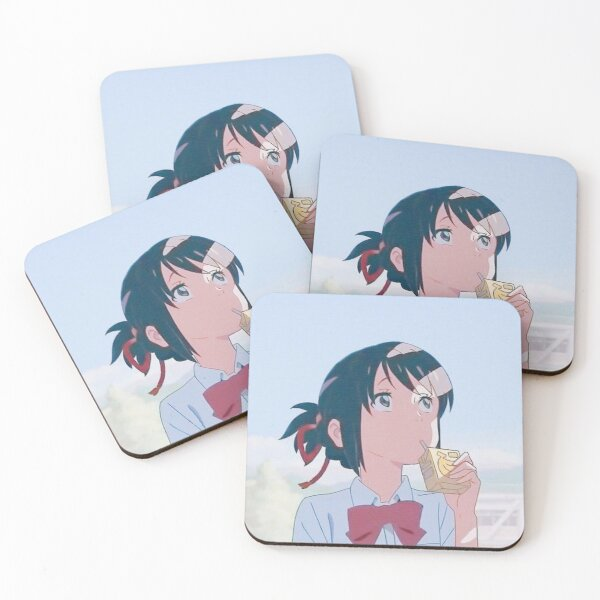 Anime Coasters (Set of 4)