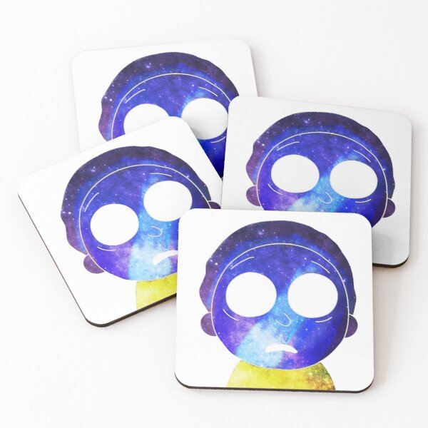 Mortified Morty Coasters (Set of 4)