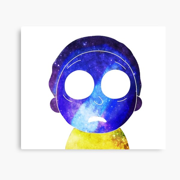 Mortified Morty Canvas Print