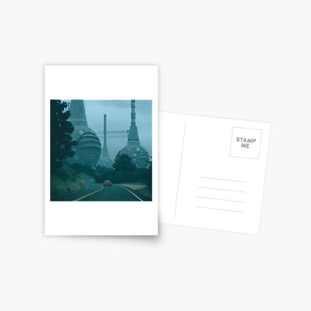 Neurograph Servers Postcard