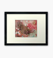 Strawberry Patch Framed Print