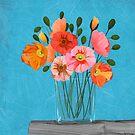 Love of colour by Debi Hudson