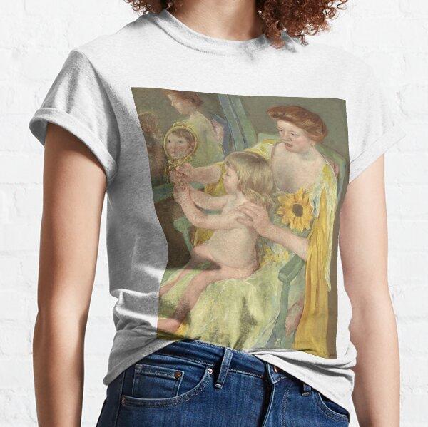 Mary Cassatt. Woman with a Sunflower, 1905. Classic T-Shirt