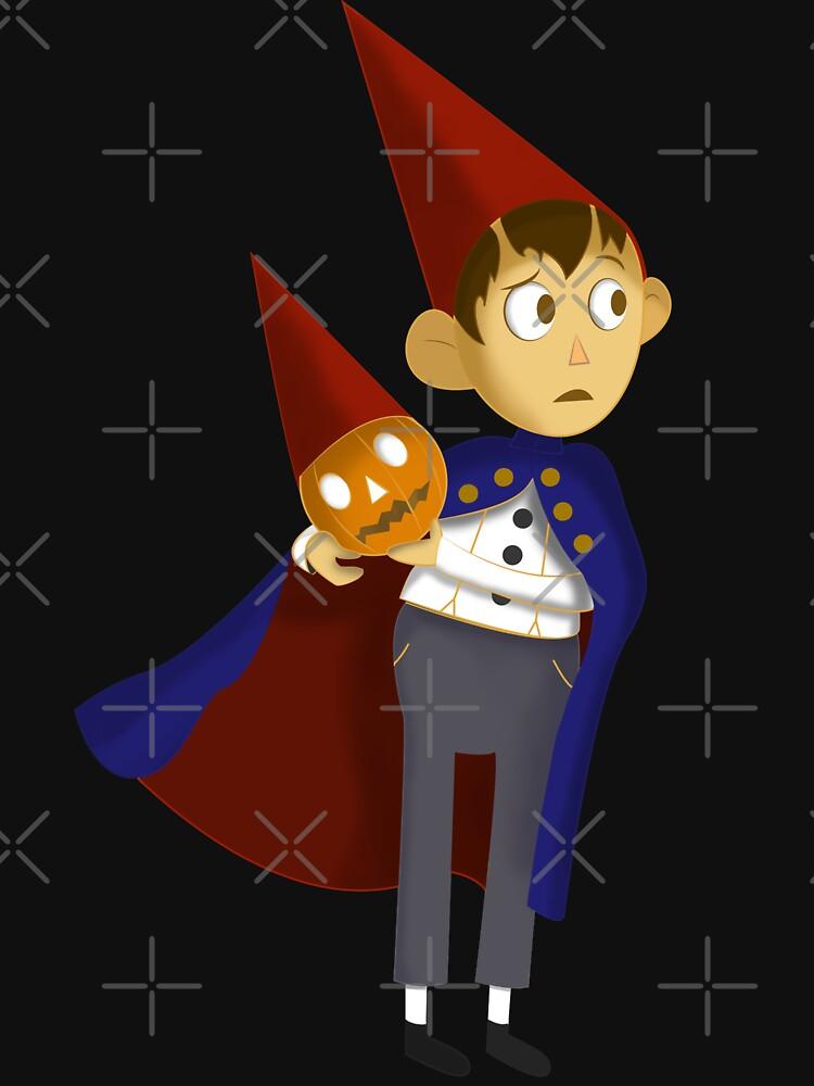 Over the Garden Wall Wirt Halloween Pumpkin by jeffreewellz