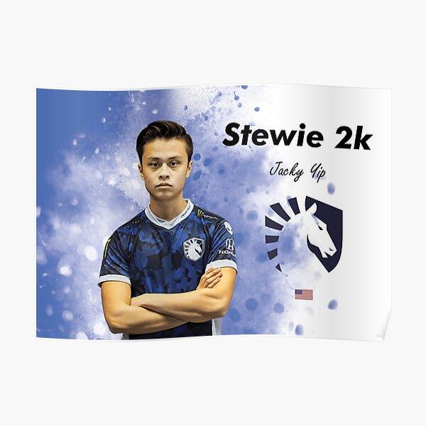 Stewie 2K csgo pro Team Liquid Poster