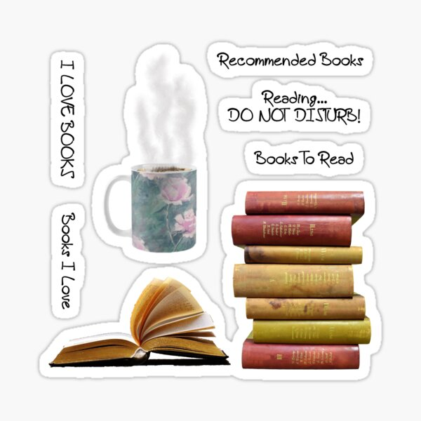 Love Books???? Sticker