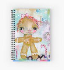 Gingerbread girl Spiral Notebook