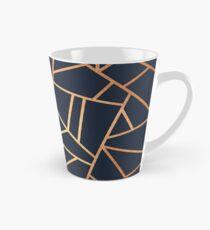 Copper and Midnight Navy Tall Mug