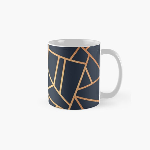 Copper and Midnight Navy Classic Mug