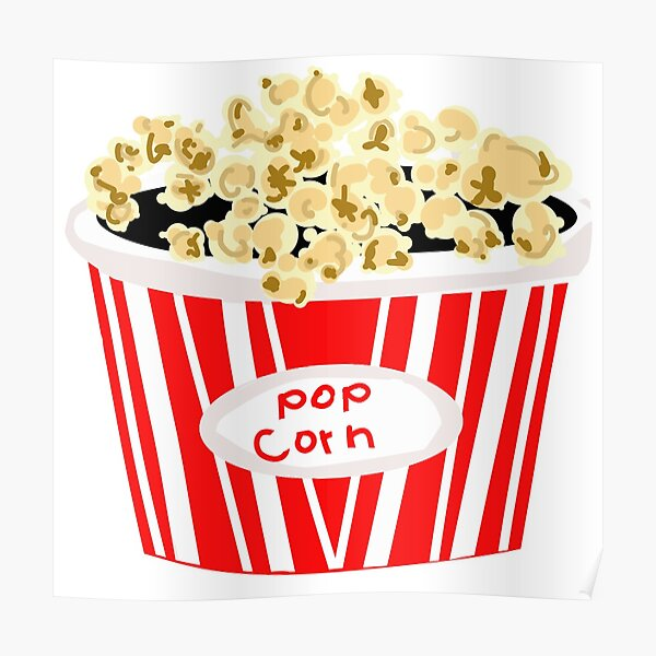 St@llion Large Retro Striped Cinema Design Popcorn Holder Tub Night Party Sweet Traditional Popcorn Bowl
