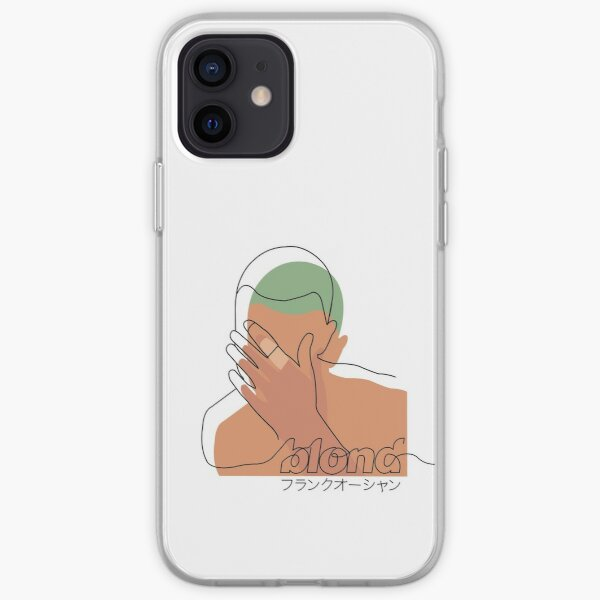 Minimalistic Frank Ocean Blond  iPhone Soft Case