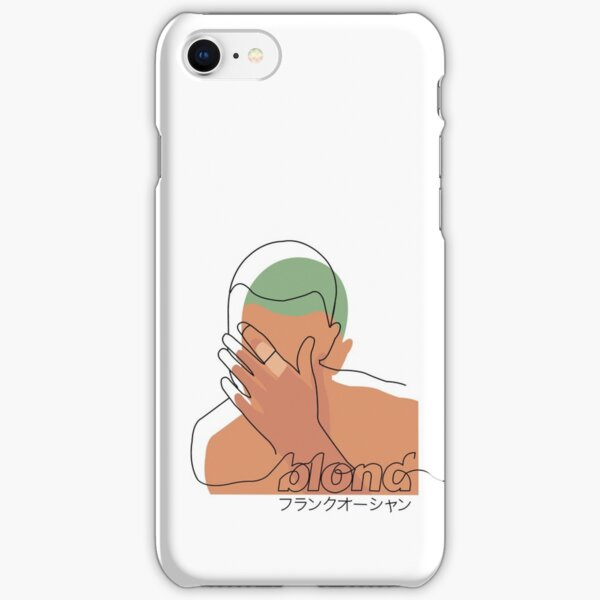 Minimalistic Frank Ocean Blond  iPhone Snap Case
