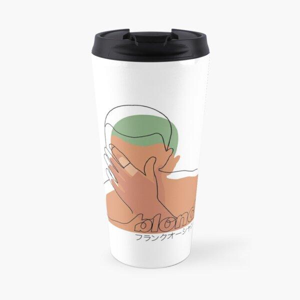 Minimalistic Frank Ocean Blond  Travel Mug