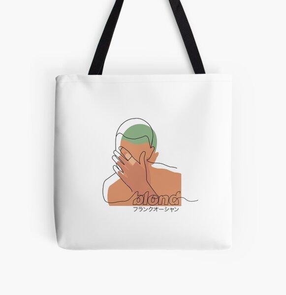 Minimalistischer Frank Ocean Blond Allover-Print Tote Bag