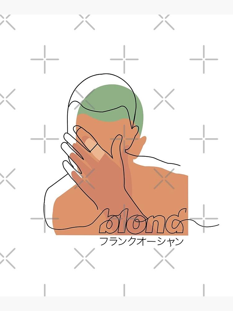 Minimalistic Frank Ocean Blond  by miiaa